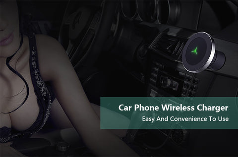 360 Degree Rotation Car Wireless Charger
