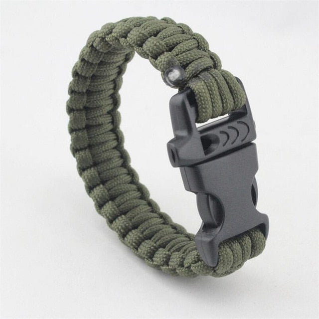 Survival Bracelet with Knife