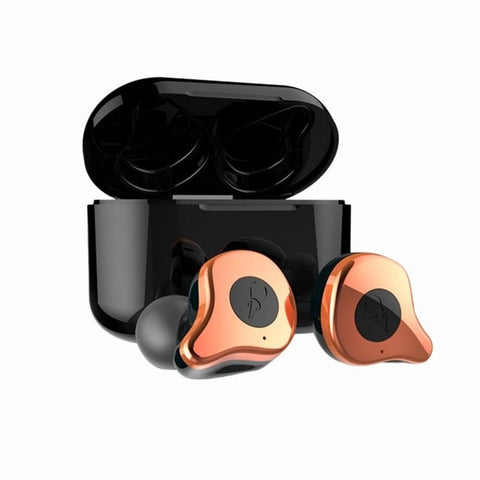 Bluetooth 5.0 Earphone Wireless Earphones With Fast Charging Case