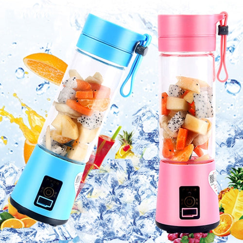 USB Rechargeable Blender Mixer 6 Blades