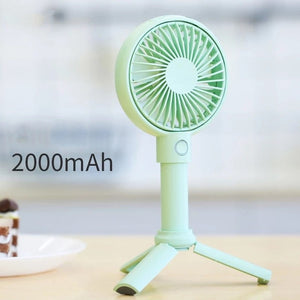 Handheld USB Rechargeable Fan