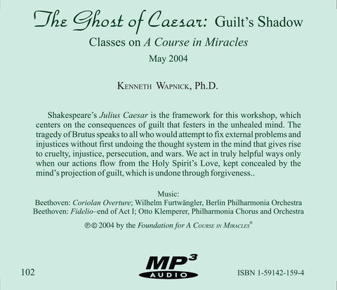 The Ghost of Caesar: Guilt's Shadow [MP3]