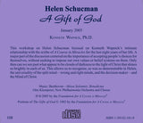 Helen Schucman: A Gift of God [CD]