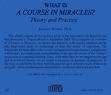 "What Is ""A Course in Miracles""?: Theory and Practice [CD]"