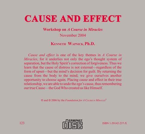 Cause and Effect [CD]
