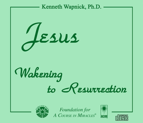 Jesus: Wakening to Resurrection [CD]