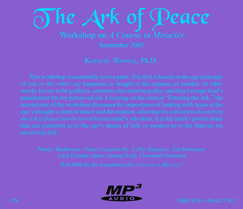 The Ark of Peace [MP3]