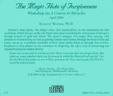 The Magic Flute of Forgiveness [CD]