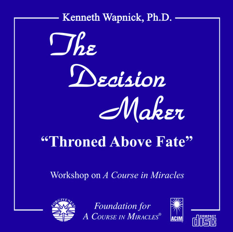 "The Decision Maker: ""Throned Above Fate"" [CD]"