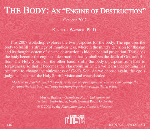"The Body: An ""Engine of Destruction"" [CD]"