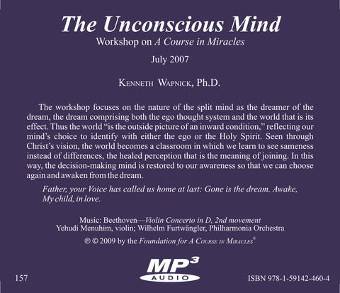 The Unconscious Mind [MP3]
