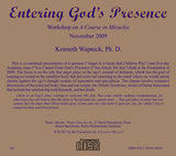 Entering God's Presence [CD]