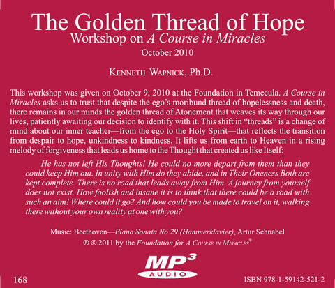 The Golden Thread of Hope [MP3]