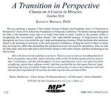 """A Transition in Perspective"" [MP3]"