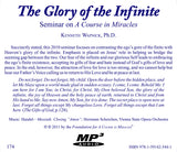 The Glory of the Infinite [MP3]