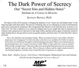 "The Dark Power of Secrecy: Our ""Secret Sins and Hidden Hates"" [MP3]"