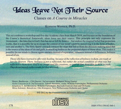 Ideas Leave Not Their Source [CD]