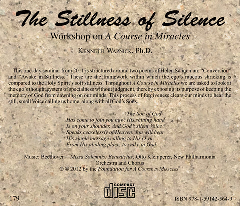 The Stillness of Silence [CD]