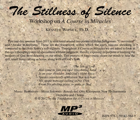 The Stillness of Silence [MP3]