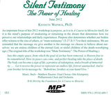 """Silent Testimony"": The Power of Healing [MP3]"