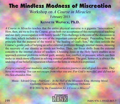 The Mindless Madness of Miscreation [CD]