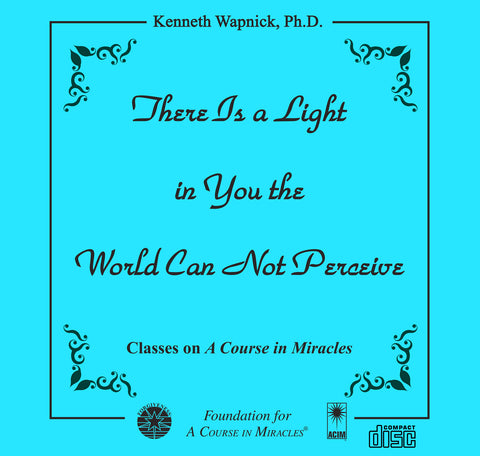 There Is a Light in You the World Can Not Perceive [CD]
