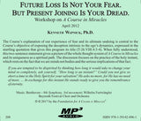 Future Loss is Not Your Fear. But Present Joining Is Your Dread [MP3]
