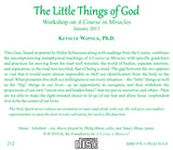 """The Little Things of God"" [CD]"
