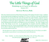 """The Little Things of God"" [MP3]"