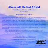 Above All, Be Not Afraid [MP3]