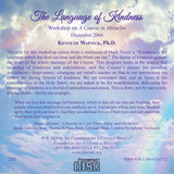 The Language of Kindness [CD]