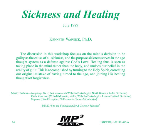 Sickness and Healing [MP3]