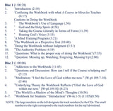 "The Workbook of ""A Course in Miracles"": Its Place in the Curriculum - Theory and Practice [MP3]"