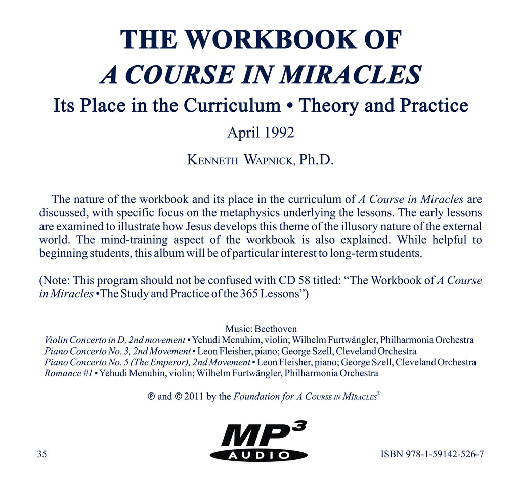 The Workbook of