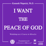 I Want the Peace of God [CD]