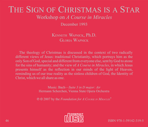 The Sign of Christmas Is a Star [CD]