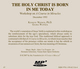 The Holy Christ Is Born in Me Today [MP3]
