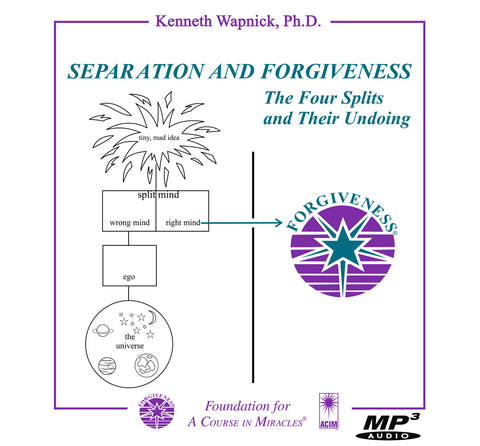 Separation and Forgiveness: The Four Splits and Their Undoing [MP3]