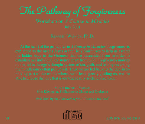 The Pathway of Forgiveness [CD]