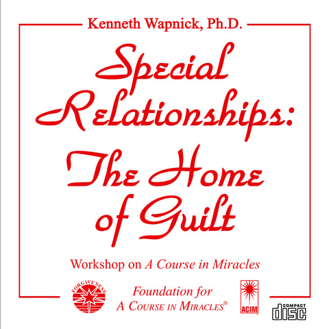 Special Relationships: The Home of Guilt [CD]