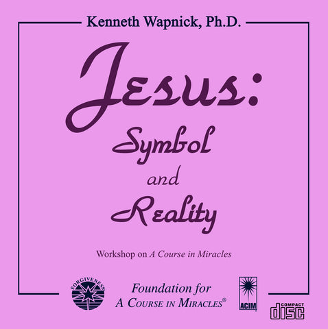 Jesus: Symbol and Reality [CD]