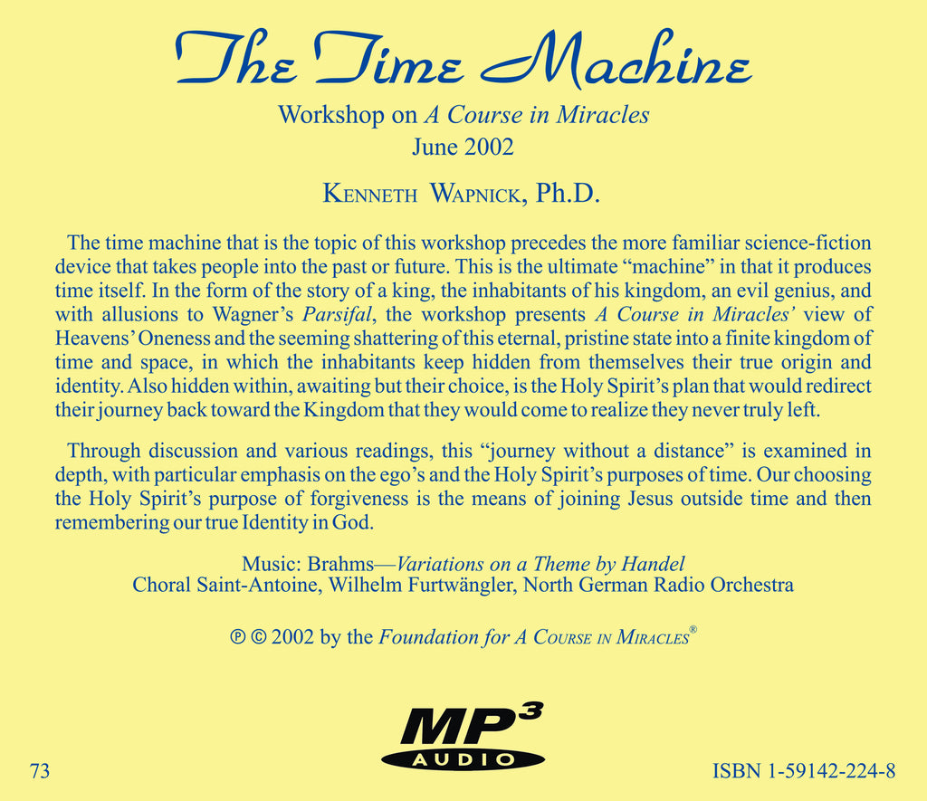 the theme of the time machine