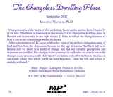 The Changeless Dwelling Place [MP3]