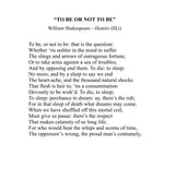 To Be or Not to Be: Hamlet, Death, and A Course in Miracles [CD]