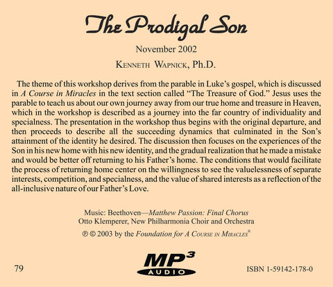 The Prodigal Son [MP3]
