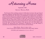Returning Home [CD]