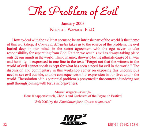 The Problem of Evil [MP3]