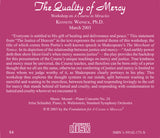 The Quality of Mercy [CD]