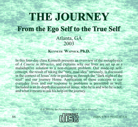 The Journey: From the Ego Self to the True Self [CD]