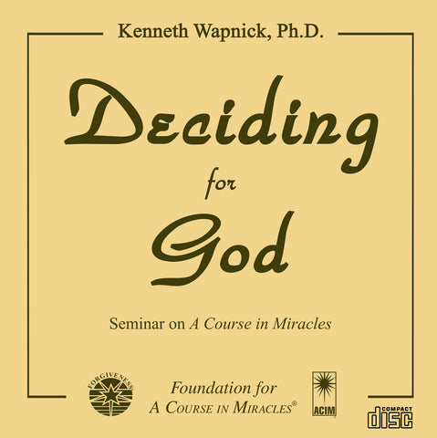 Deciding for God [CD]